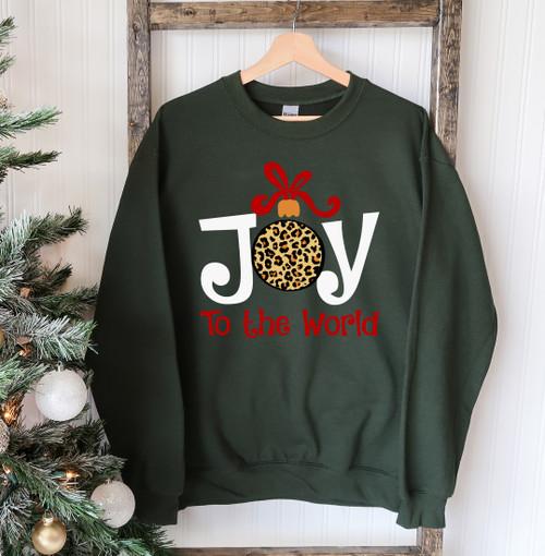 """Joy To The World"" - Printed Comfortable & Stylish Sweatshirt"