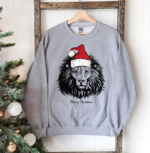 Lion Comfortable & Stylish Christmas Sweatshirt