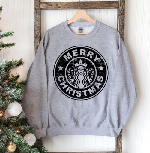 """""""Merry Christmas""""- Printed Comfortable & Stylish Sweatshirt"""