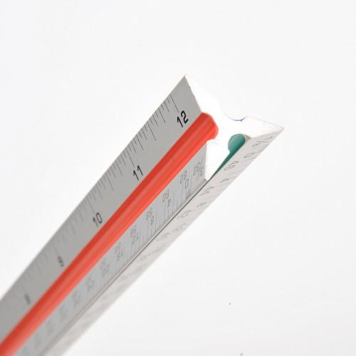 Triangular Architect Ruler- For Multiple Measurements