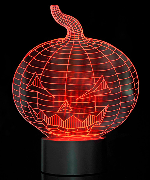 Magical 3D Illusion Lamp Pumpkin Laser Cut Precision LED Lights