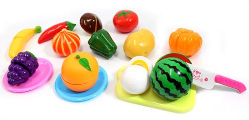 Kitchen Super Fun Cutting Fruits & Vegetables Food Playset