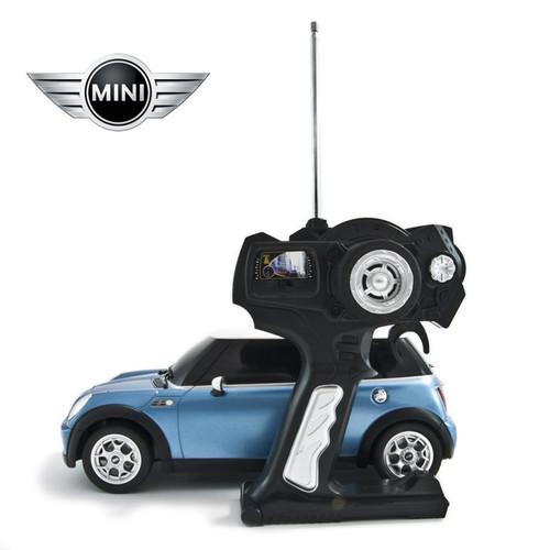 1:14 RC Minicooper Toy Car (Blue)