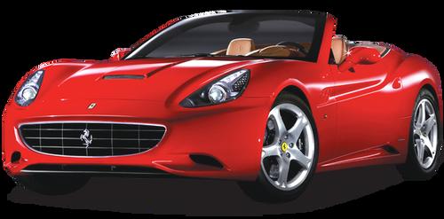 Amazing RC Ferrari California Toy Car Made By Rastar(Red)
