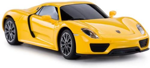 Porsche Remote Control Car 918 Spyder RC Toy Car for Kids (Yellow)