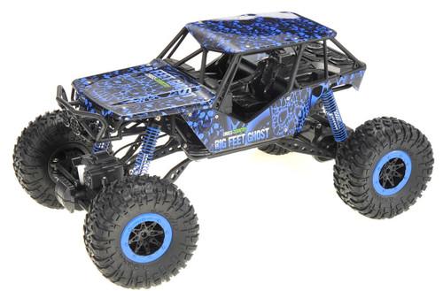 Super RC 2.4G 4WD Rally Rock Drive Climbing Crawler Car (Blue)