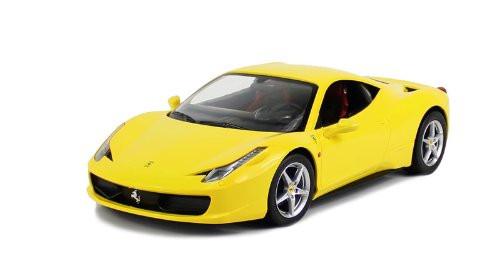 Full Function RC Ferrari 458 Italia With Glossy Exterior(Yellow)