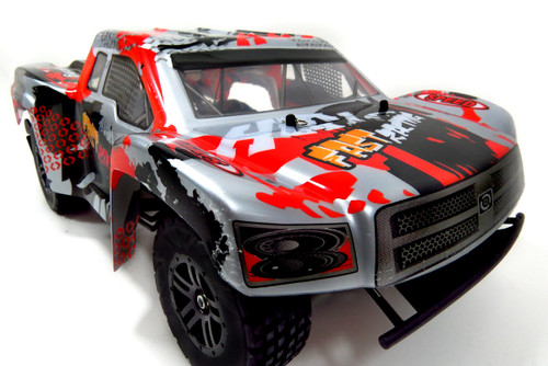 Super 1:12 RC Pathfinder Remote Control RTR Sports Racing Truck (Silver)