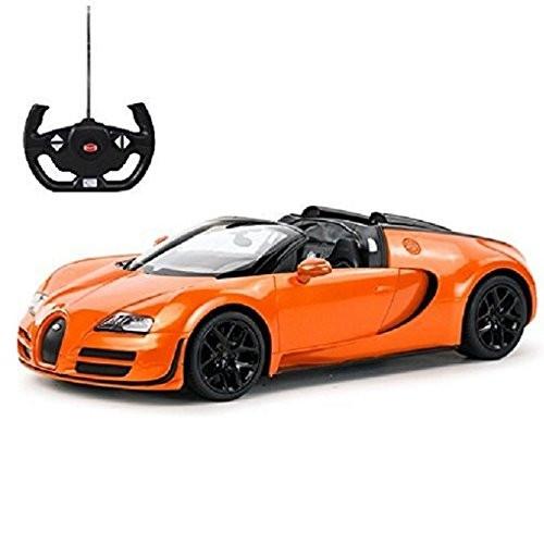 Powerful Multiple Mobility Functions RC Bugatti Veyron Grand Sport Vitesse Car (Orange)