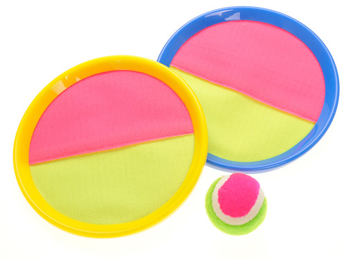 Velcro Toss And Catch Sports Game- Great Indoor Outdoor Energetic Game