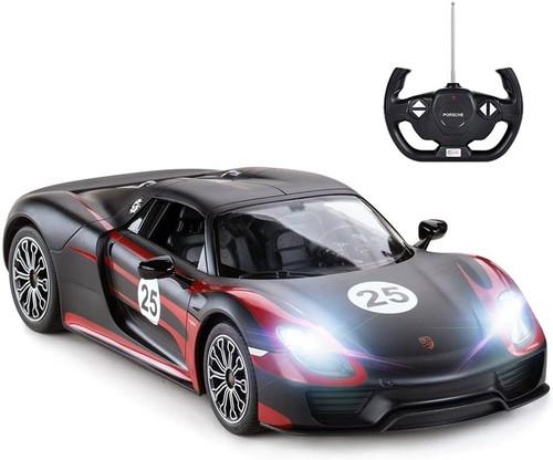 Porsche 918 Spyder RC Car | Porsche Model Toy Car for Kids (Black)