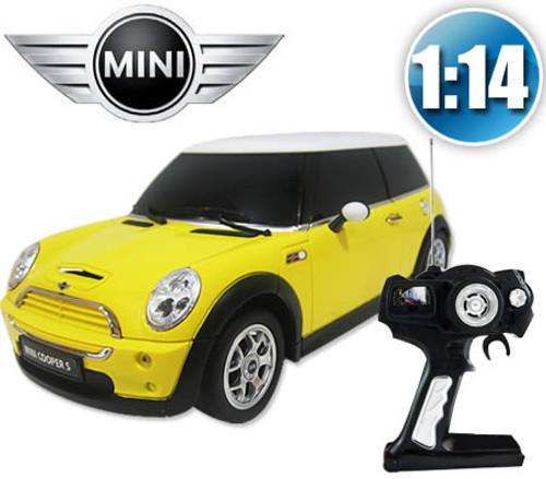 Amazing RC Minicooper Toy Car (Yellow)