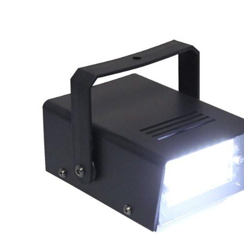 LED Mini White Flashing Strobe Light- Easy To Set up & Operate