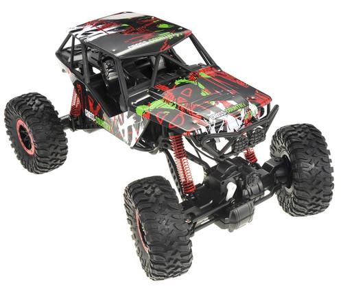Super RC 2.4G 4WD Rally Rock Drive Climbing Crawler Car (Red)