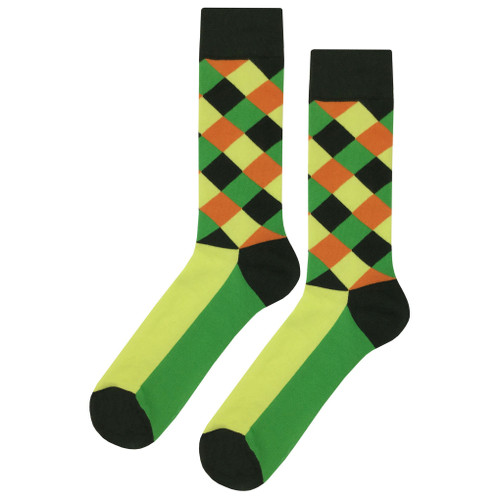 Multicolor Soft and Breathable Energy Hatch Socks
