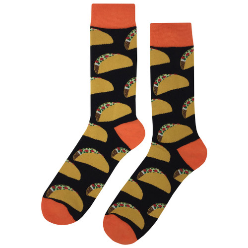 Multicolor Soft and Breathable Crazy Taco Socks