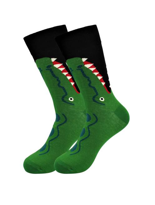 Sick Socks – Crocodile – Down South Casual Dress Socks