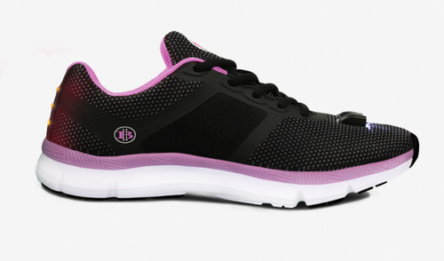 Women's Night Runner Shoes With Built-in Safety Lights