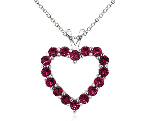 Red Hot Heart Pendant High Quality Material