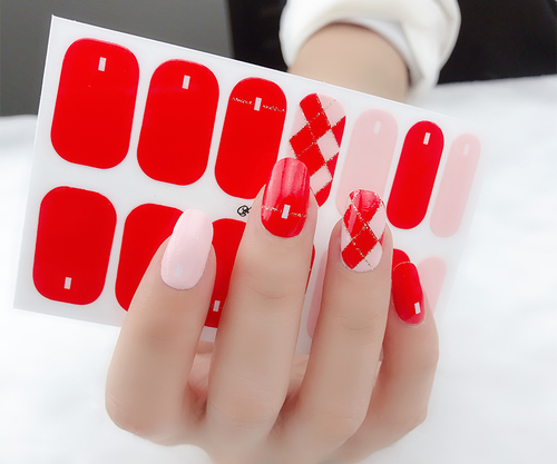 Buckle In Gel Nail Wraps Real Nail Stickers