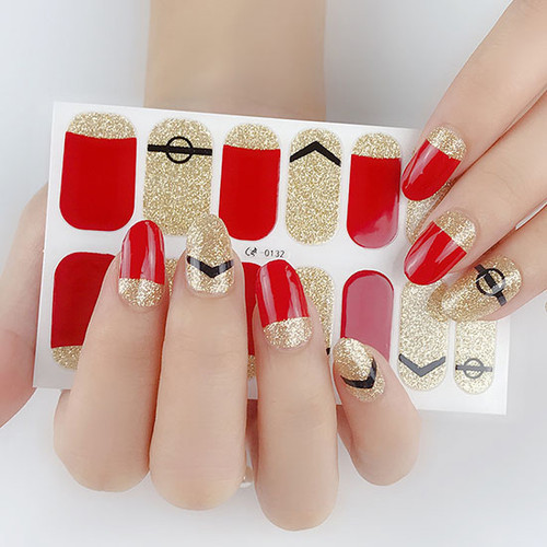 The Force Gel Nail Wraps Real Nail Stickers
