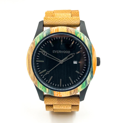 Multi Colored Bamboo Inverness Limited Edition Watch