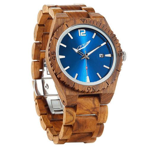 Men's Personalized Engrave Ambila Custom Wood Watches