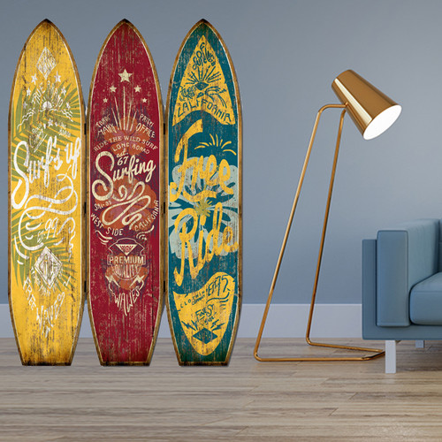 """47"""" x 1"""" x 71"""" Multicolor Wood Endless Summer  Screen. 342762"""
