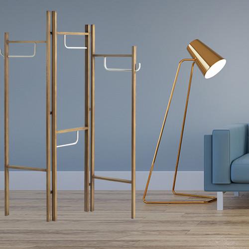 Modern Scandinavian Style 3 Panel Room Divider Screen. 342780