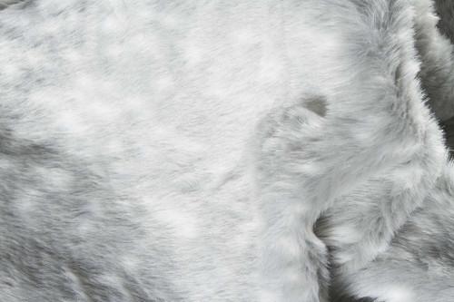 "0.8"" x 60"" x 51"" Acrylic Plush, Polyester Grey Rug. 358153"