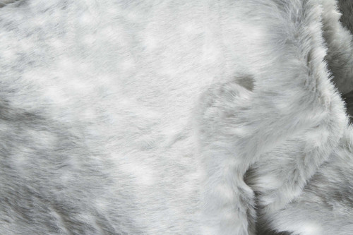 "0.8"" x 90"" x 63"" Acrylic Plush, Polyester Grey Rug. 358154"