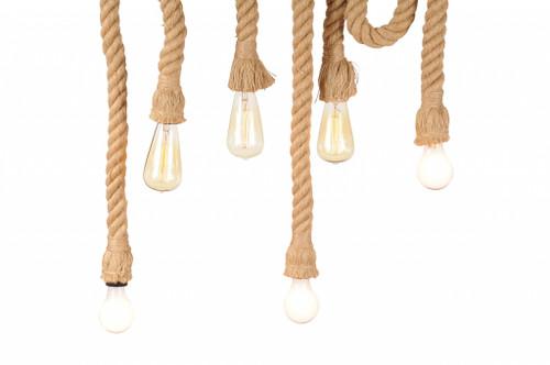 """5"""" x 30"""" x 50"""" 6 bulbs Medusa  Pendant Lamp. 364233"""