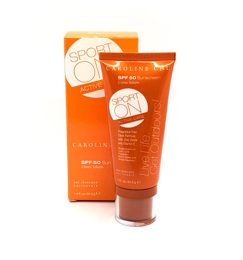 SPORT ON ACTIVE CARE SPF 50 Sunscreen- Vegan & Cruelty Free