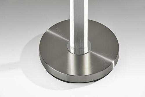 Five Color Glow Stick Floor Lamp in Brushed Steel. 372844