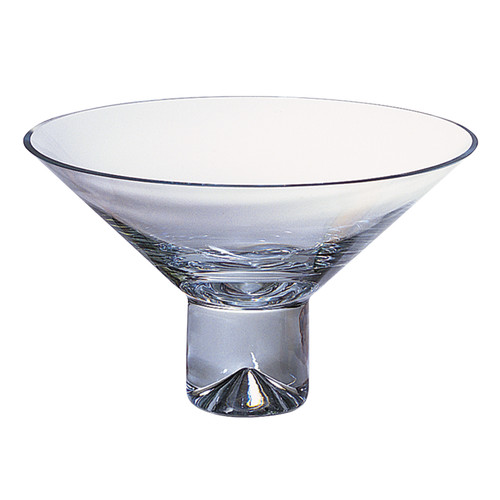 """11"""" Mouth Blown Crystal Centerpiece or Fruit Bowl. 375849"""