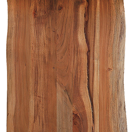 Solid Acacia Wood Live Edge Dining Table. 379798