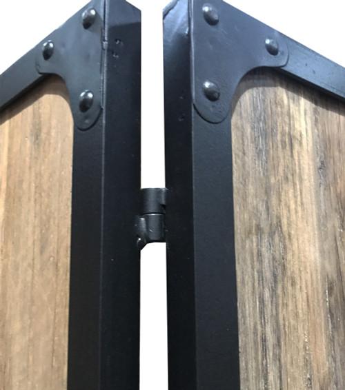 4 Panel Brown Room Divider. 379906
