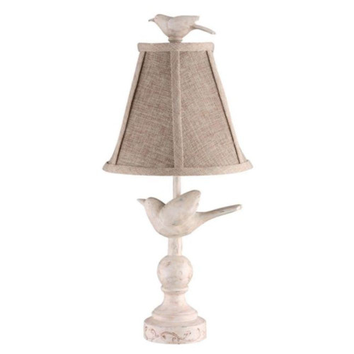 Ready to Fly Carved Birds Accent Lamp. 380491