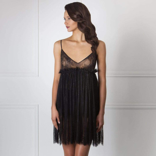 Luxury Eminent Sheer Lace Nightdress Amoralle- Famous Latvian Made