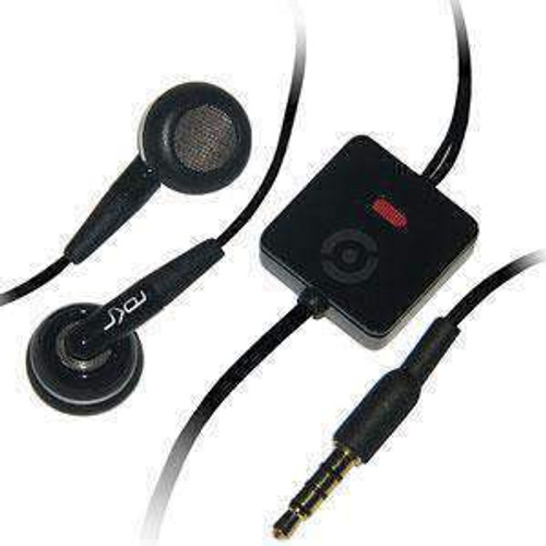 Motorola Comfortable 3.5mm Stereo Headset With Microphone - Black