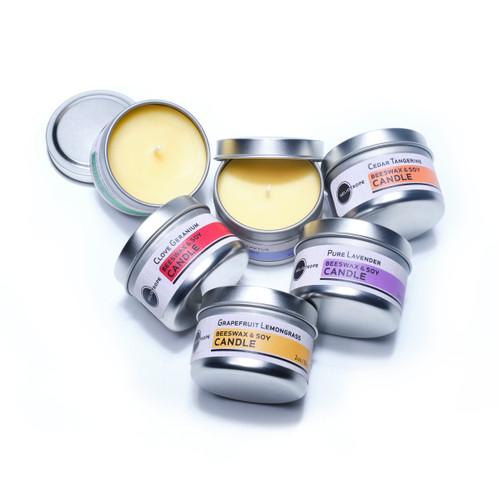 Beeswax & Soy Pillar Candles- Natural simple & Long Lasting