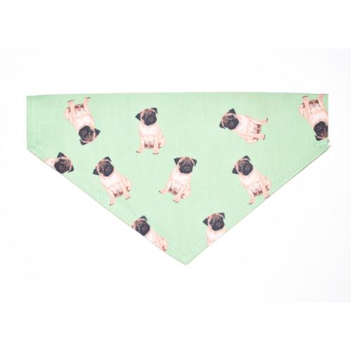 Pug Slip-on Bandana- The Pawfect Way to Dress Up Your Pug