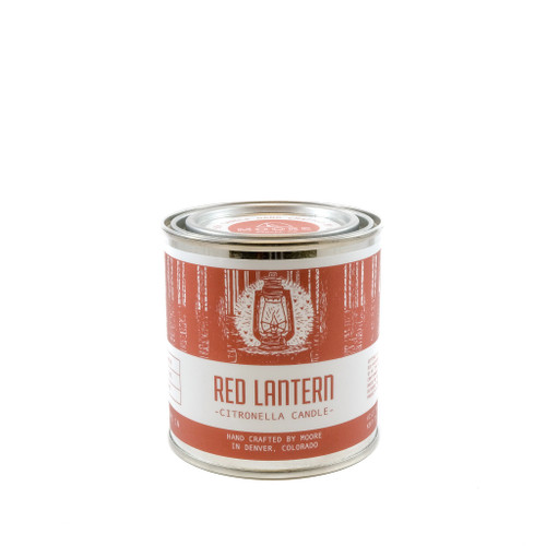 Red Lantern Citronella Aesthetically Pleasing Candle