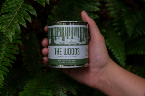 The Woods Natural Soy Candle