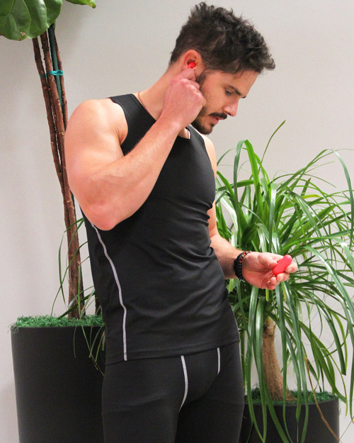 Durham Mens Camisole Black- Keep You Cool In Summer