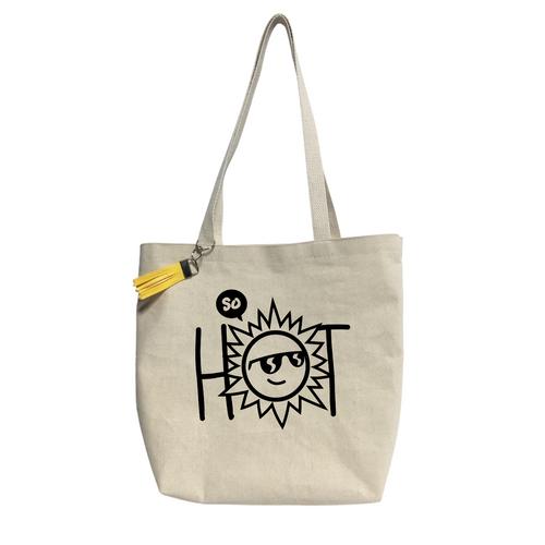 So Hot Reusable &  washable Canvas Tote bag