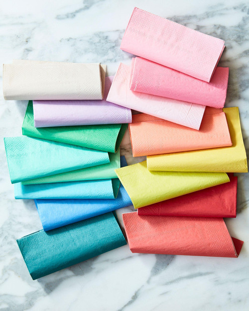 Multicolor Oh Happy Day Napkins (Dinner)