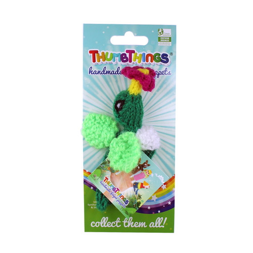 Handmade and Eco-Friendly  Hummingbird With A Flower Finger Puppets