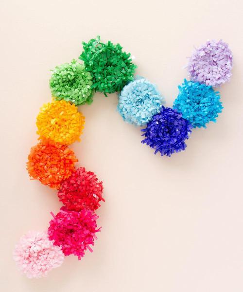Multicolor Festive Festooning Rainbow