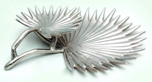 Contemporary Double Leaf Design Serving Tray. 388617